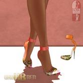 -Unbothered- TropicalFeel Heels (Peach)
