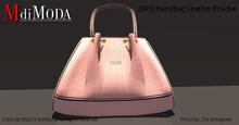 MdiModa - [005] Handbag Leather Poudre