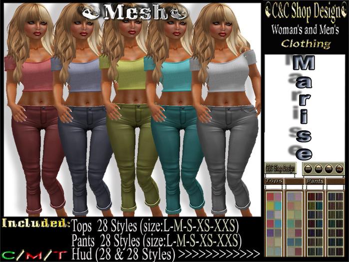C&C Mesh Marise (Hud 28 & 28 Styles)
