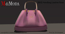 MdiModa - [005] Handbag Leather Rose