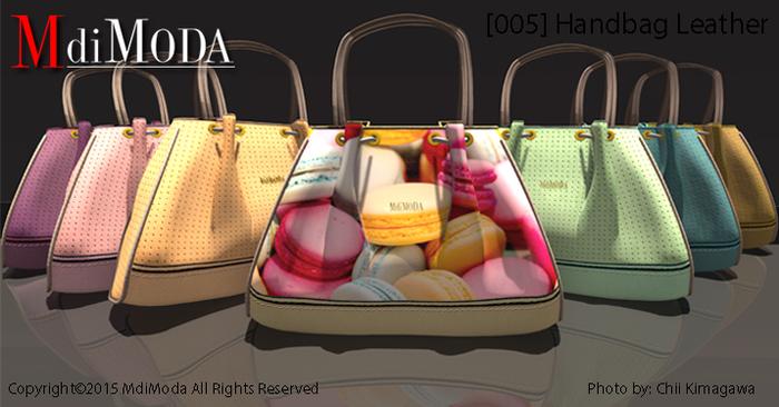 MdiModa - [005] Handbag Leather FatPack