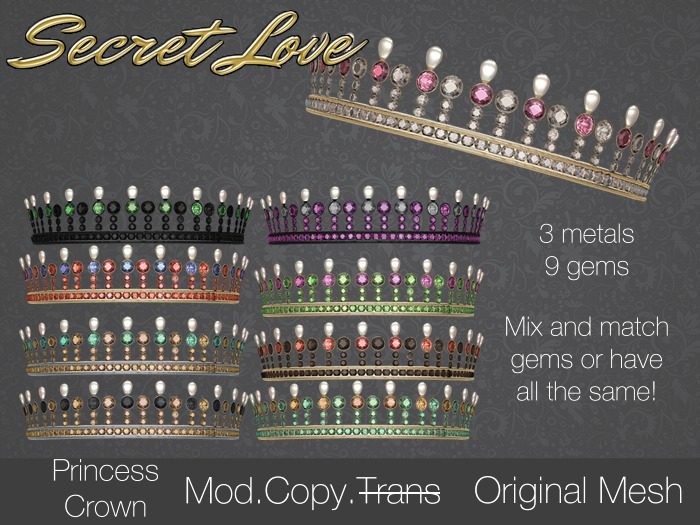 {Secret Love} Pearl Circlet {add me}