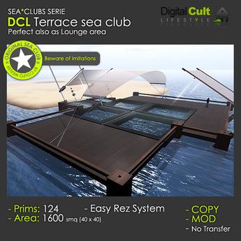 *** DCL Lounge Terrace sea Club