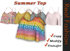 REAL FASHION Summer top - full perm