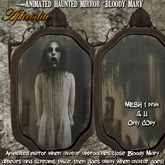 """""""Bloody Mary""""`s  Haunted Mirror- The original one!"""