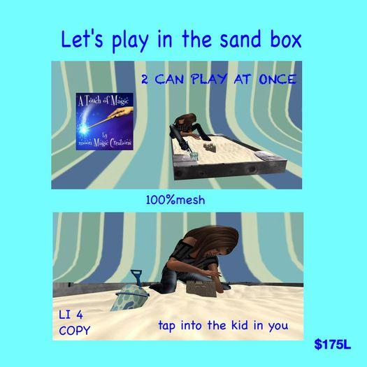 Sandbox with animations (sacpac)