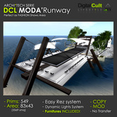 *** DCL MODA' Runway - Fashion shows area