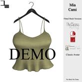 DE Designs - Mia Cami - DEMO
