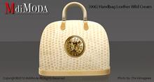 MdiModa - [006] Handbag Leather Wild Cream