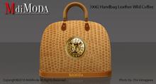 MdiModa - [006] Handbag Leather Wild Coffee
