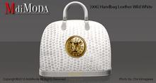 MdiModa - [006] Handbag Leather Wild White