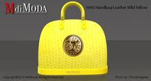 MdiModa - [006] Handbag Leather Wild Yellow