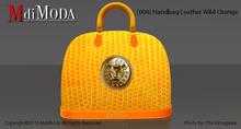 MdiModa - [006] Handbag Leather Wild Orange