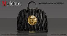 MdiModa - [006] Handbag Leather Wild Black