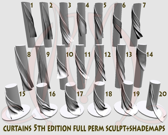 Curtains 5th edition FULL PERM SCULPT+SHADEMAPS