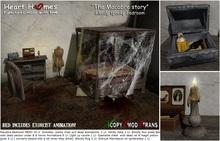 """Macabre Story"" Halloween Bedroom (Boxed, Copy)"