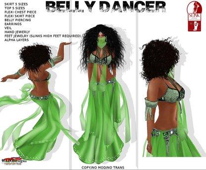 BELLY DANCER LIME