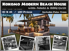 Modern Beach House (Kokomo) (Packaged)