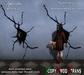 "Halloween: ""The Zombie Girl"" Spooky Wall Deco"