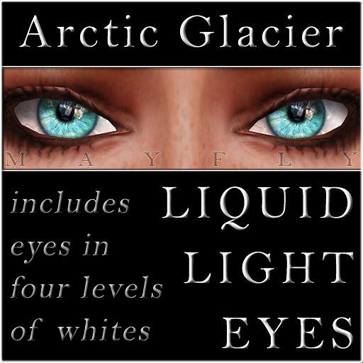 Mayfly - Liquid Light Eyes (Arctic Glacier)