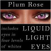 Mayfly - Liquid Light Eyes (Plum Rose)