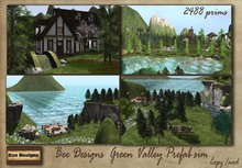 .:Bee Designs:. Green Valley Prefab sim
