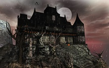 """Aphrodite """"Haunted House"""" - With haunted furniture! complete set with everything."""