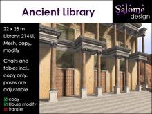 Ancient Library Sales Box