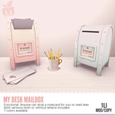 MishMish - My Desk Mailbox (Rose) PINK[Boxed]