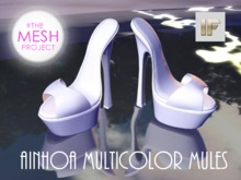 [IF] Ainhoa Multicolor Mules for The Mesh Project