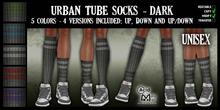 .:A&M:. Urban Tube Socks - Dark - Unisex