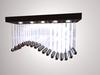"""Scripted chandelier""""Wave"""" 1prim 100%mesh"""