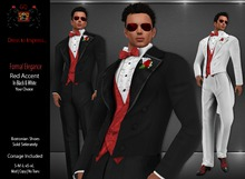 GQ Red Accents in Black & White - Tuxedos by 69 Park Ave [MESH]