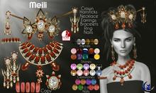 Moondance Jewels Meili Jewely & Nails Set