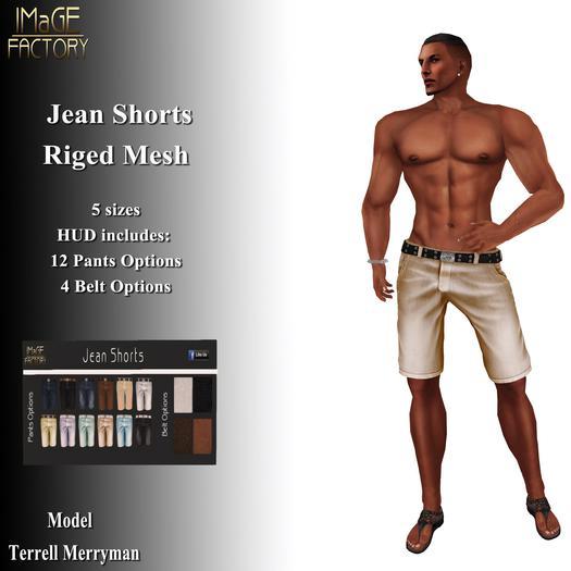 IMaGE Factory Jean Shorts