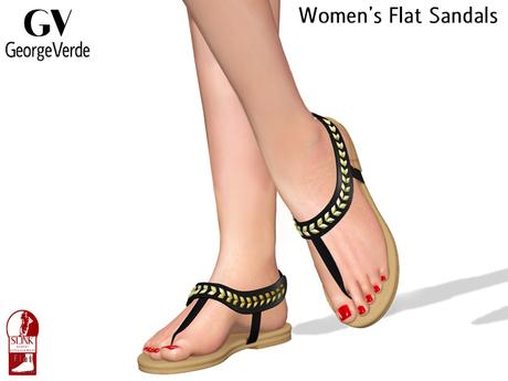 Flat Sandals For Slink Flat Feet