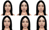 Full perm mesh head expressions