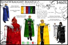 -Runewraught Mantle- FULL PACK - ~Refined Wild~ and Emsdrakkan
