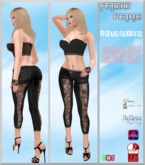 .:f etiche petite:. black lace combo outfit(appliers incl)