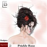 Baboom-prickly Rose-Headpiece/blackHat-Originalmesh