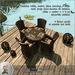 hanaya  wicker garden dining set