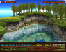 21strom: Shores/River Banks - Oak Forest Summer - Mesh Shore Landscape with Wind Effect, Animated Water