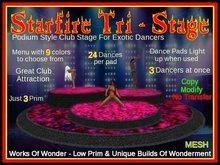 Starfire Tri-Stage Dance Floor -Mesh-