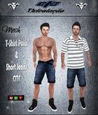 :::OTC::: 062 - T-Shirt Polo & Short Jeans OTC