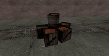 Blackwine crates 6 in 1 prim (copy version)