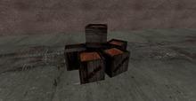 Blackwine crates 6 in 1 prim (trans version)