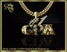 #1 GPA mesh chain (gold)