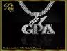 #1 GPA mesh chain (platinum)