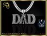 Dad mesh chain (platinum) Boxed