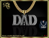 Dad mesh chain (gold) Boxed